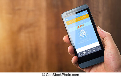 Mobile Payment with Smart Phone