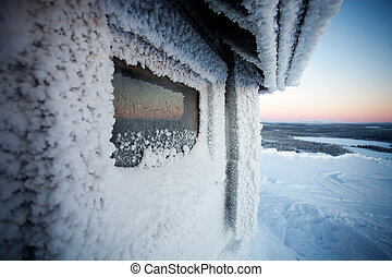Winter in Lapland Finland - Cold winter in Lapland Finland