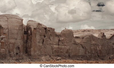 Monument Valley - Panorama of Mounment Valley