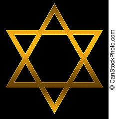 star - A star of David