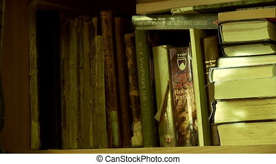 Shelf With Old Book