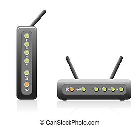 Router Iconeps - Network Router Icon