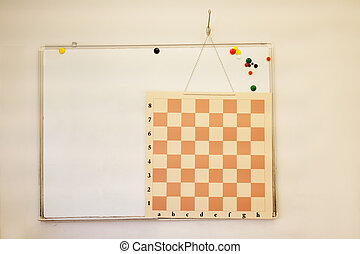 Chess board - Interior classroom in the childrens...