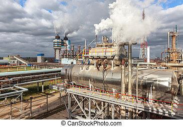 planta, fecundación, Amoníaco, químico, tiempo, producción,...