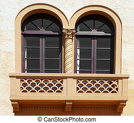 Terracotta Balcony - Art Deco Style Terracotta Balcony...