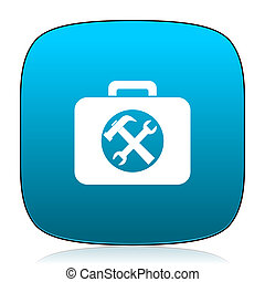 toolkit blue icon