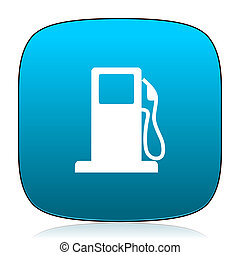 petrol blue icon