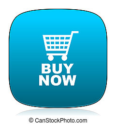 buy now blue icon