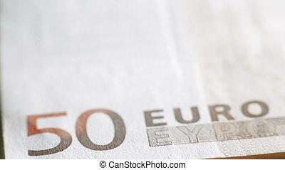 50 euros close-up
