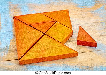 tangram, Quebra-cabeça,