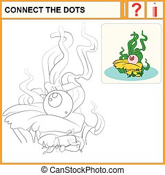 1215_35 connect the dots - Connect the dots, preschool...