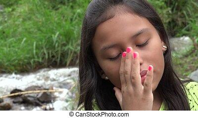 Hispanic Girl near Cascade