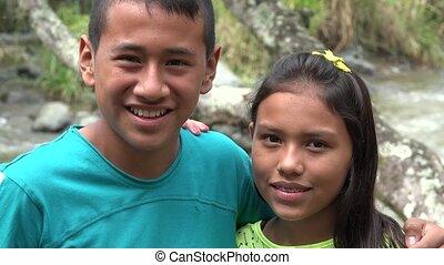 Indigenous Siblings or Friends