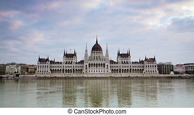Parliament in Budapest, Hungary - Parliament in Budapest,...