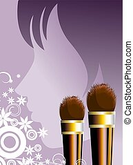 Cosmetic product - Illustration of Cosmetic products