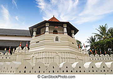 Buddhist Temple of the Tooth Relic Sri Lanka, Kandy