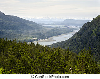 View from Mount Roberts, Juneau