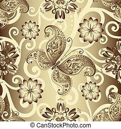 Seamless silvery pattern