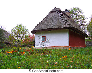 House In Museum Of National Art Pirogovo