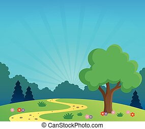 Spring topic scenery 1
