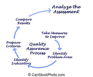 Diagram of Quality Assurance Process