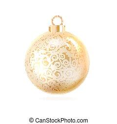 The Christmas ball.