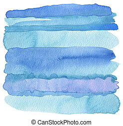 Abstract watercolor strip painted background Texture paper
