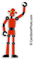 Red Robot waves
