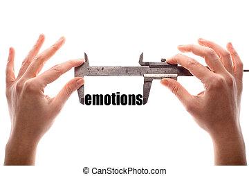 grande, emoções,