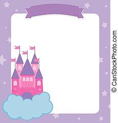 princess castle card