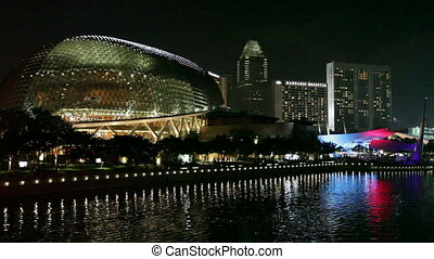 Singapore Opera House on February 15, 2011 in Singapore