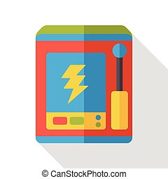 charging station flat icon