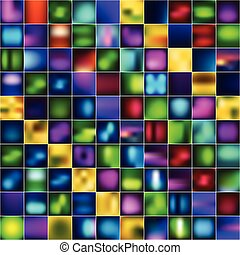 Set of abstract bright blurred backgrounds - Set of 100...
