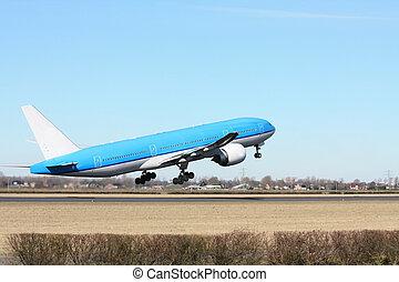 samolot, wpływy, od