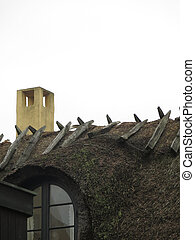 Thatched Cottage Roof