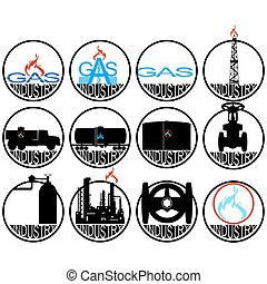 Gas extracting industry