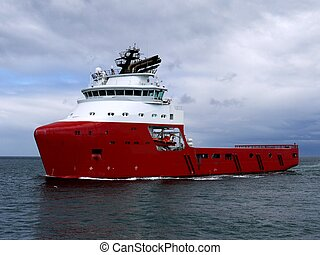 Offhore Supply Ship 15a - Oil industry offshore supply...
