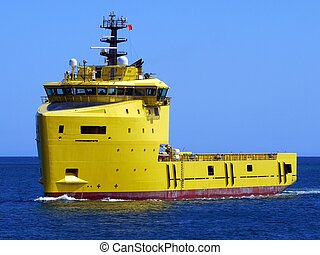 Offhore Supply Ship 15b - Oil industry offshore supply...