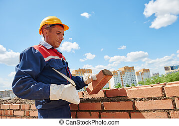 construction worker bricklayer - construction worker mason...