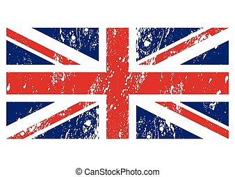 Vector illustration of the flag Great Britain