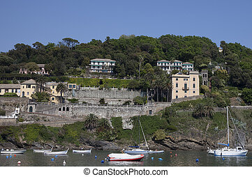 sestri levante - the bay of Sestri Levante