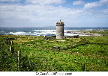 Doonagore Castle in Ireland - Doonagore Castle in County...