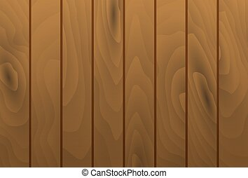 Vector wood grain texture planks. Wooden table surface.