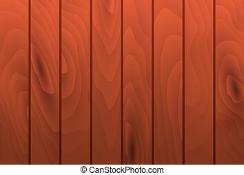 Vector mahogany wood grain texture planks. Wooden table...