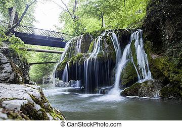 Bigar cascade - Color image of the Bigar cascade in Romania.