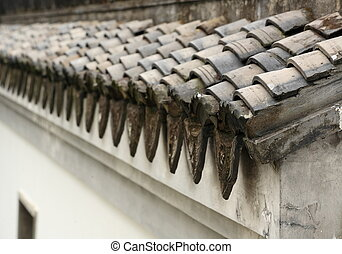 chinese building eave