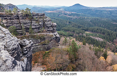 Bohemian switzerland - Autumn in Bohemian switzerland