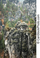 Saxon Switzerland, Germany - Saxon Switzerland national...