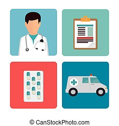 Medical heatlhcare design - Medical healthcare grapic...