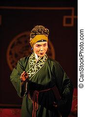 china opera old woman
